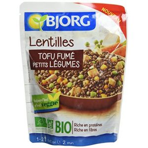 Bjorg Lentilles, tofu fume, leg doy