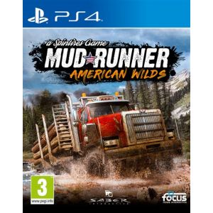 Spintires: MudRunner - American Wilds Edition [PS4]