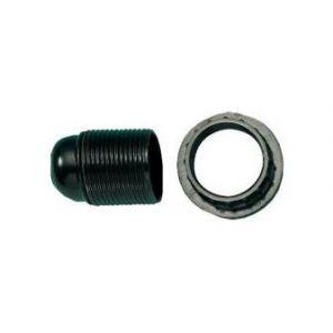 FP Douille ampoule E14, ISO Aussengew.mantel noir (Par 10)