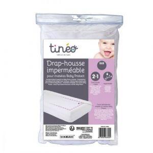 Tinéo Drap housse imperméable pour matelas Baby Protect 70 x 140 cm