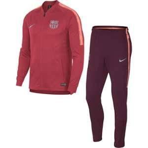Nike Survêtement de football FC Barcelona Dri-FIT Squad pour Homme - Rose - Taille L