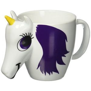 ThumbsUp! Thumbs Up UNIMUGCC Unicorn Mug Tasse Licorne Céramique Multicolore 13,4 x 10,5 x 9 cm
