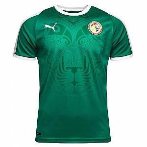Puma T-Shirt Sénégal Coupé SS Replica Maillot XXL Pepper Green White