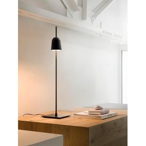 Luceplan Lampe de table Ascent LED / H 64,6 cm noir en métal