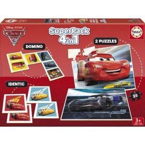Educa SuperPack 4-en-1 - Cars 3