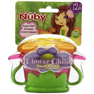 Nûby 220052 - Boîte à goûter Flower