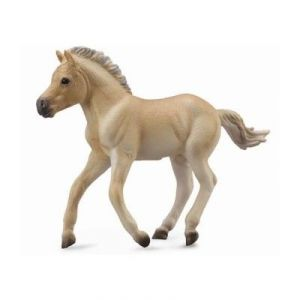 Collecta 88592 - Figurine cheval Poulain Fjord isabelle brun