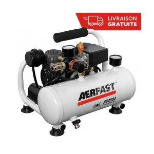 Senco Compresseur sans huile silencieux 4L AERFAST AC4504