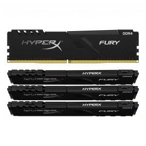 Kingston HyperX Fury 64 Go (4 x 16 Go) DDR4 3466 MHz CL17