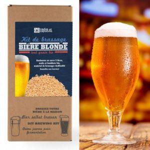 Radis et capucine Coffret Brassage tout grain malt bio 5L bière blonde Pils