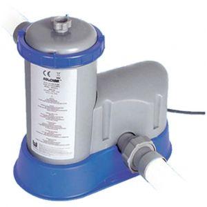 Bestway Pompe de filtration 5680 l/h pour le nettoyage de l'eau de piscine 58122