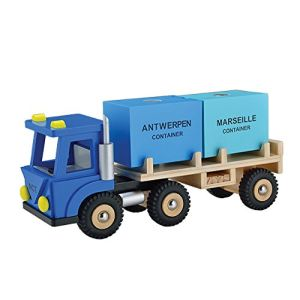 New Classic Toys Camion avec deux containers