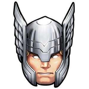 Star Cutouts Masque pour adulte Thor Avengers