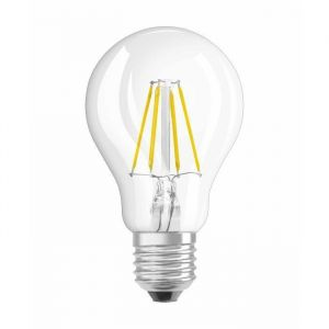 Osram Ampoule LED E27 - 4W Equivalent 40W - Forme Standard claire filament - Dimmable