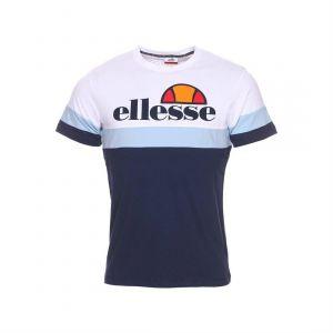 ELLESSE Tee Shirt eh h TMC tricol Bleu H M