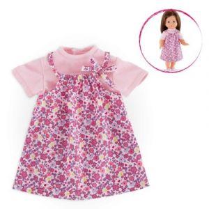 Corolle Vêtement pour poupée 36 cm Robe 1001 fleurs