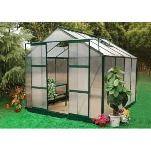 Greenea II - Serre de jardin en polycarbonate de 7.5 m²