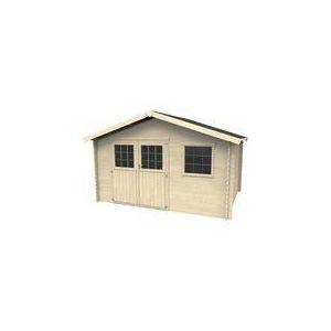 Abri de jardin Martin en bois 15,80 m2