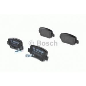 Bosch 4 plaquettes de frein 0986494403