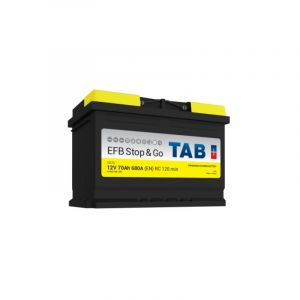 Tab Start Stop Efb Sg70 Batterie Voitures, 12 V 70Ah 680 Amps
