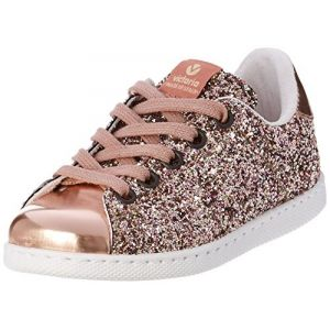Victoria Chaussures enfant DEPORTIVO GLITTER KID rose - Taille 32,33,34