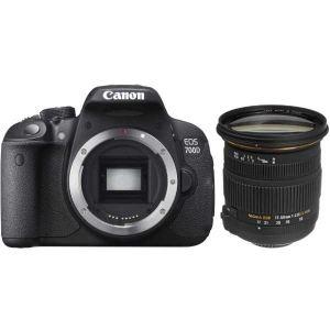 Canon EOS 700D (avec objectif Sigma 17-50mm)