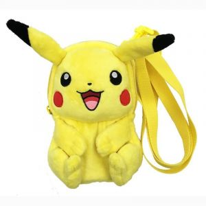 "Image de Sac de transport Peluche ""Pikachu"" pour New 3DS XL/New 3DS/3DS"