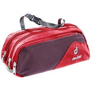 Deuter Wash Bag Tour II - Trousse de toilette taille 1,2 l, rouge/ aubergine