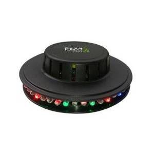 Ibiza Sound LED UFO-BL Effet de lumière à LED Noir