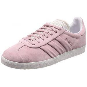 Adidas Originals Baskets Gazelle Stitch And Turn Femme Rose Pâle - Taille UK 4.5