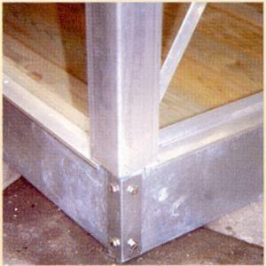 Image de ACD 140047 - Embase pour serre Prix gagnant en verre trempé 10 m2