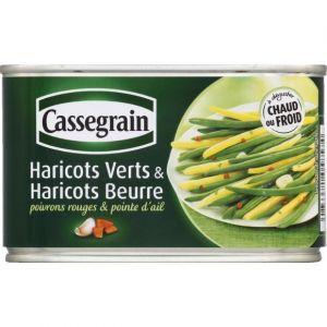 Cassegrain Haricots verts et haricots beurre - La boîte de 220g