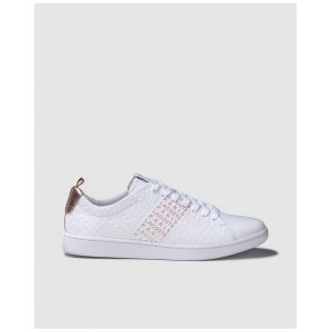 Lacoste Carnaby Evo 119 11 Us chaussures Femmes blanc or T. 40,5