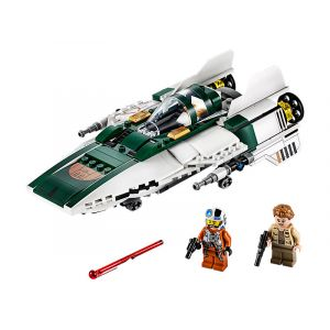Lego Star Wars Episode IX 75248 A-Wing Starfighter de la Résistance