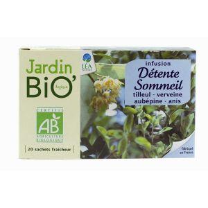 Jardin Bio Infusion détente et sommeil (20 sachets)