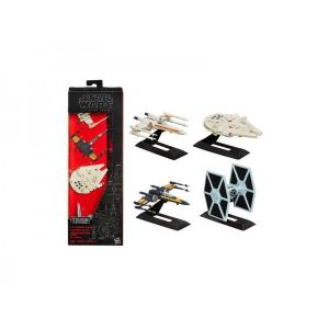 Hasbro 4 mini véhicules Titanium Star Wars - The Black Series 2015