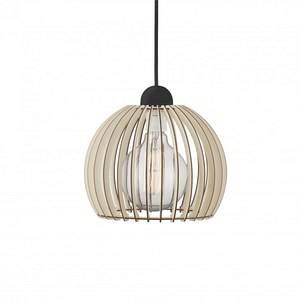 Nordlux Suspension Chino 25 E27 60 W bois