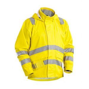 Blaklader Veste de pluie ignifugée haute visibilité -- 43032009 - Jaune XXXL