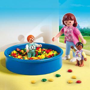Playmobil 5572 City Life - Piscine à balles pour bébés