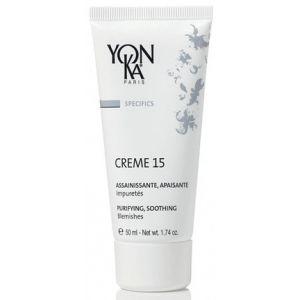 YonKa Paris Crème 15 - Assainissante, apaisante, impuretés