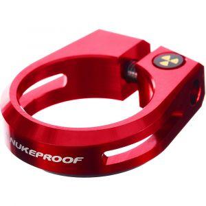 Nukeproof Collier de selle Horizon - 28.6mm Rouge