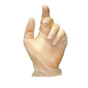 Mapa Paire de gants jetables vinyle poudré blanc taille 8 - Boîte de 100