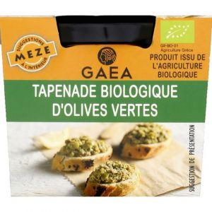 Gaea Tapenade biologique d'olives vertes