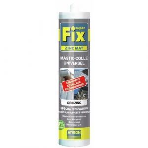 Outifrance MASTIC SUPER FIX ZINC GRIS 290ML