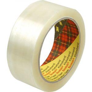Rouleau de scotch PVC transparent 50x66mm