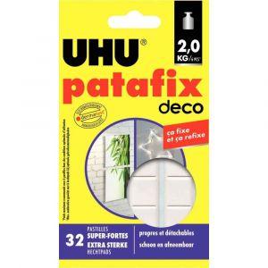 UHU PATAFIX - 381504 - Pastilles Patafix home déco - Blister de 32