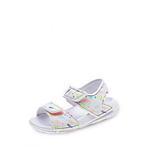 Adidas Altaswim I, Sandales Plateforme Mixte bébé, Multicolore