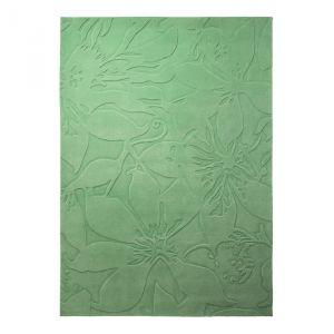 Esprit home Lily - Tapis effet 3D floral (140 x 200 cm)