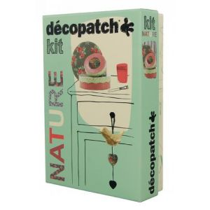 decopatch Kit - nature - papier mâché