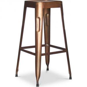 tabouret de bar metal vintage comparer 178 offres. Black Bedroom Furniture Sets. Home Design Ideas